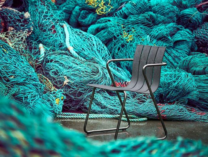 Mater Ocean Outdoor Chair Nets Nanna Ditzel