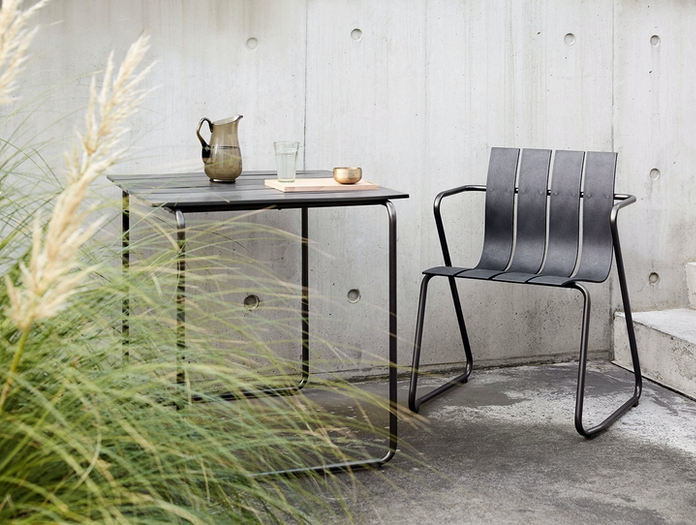 Mater Ocean Outdoor Table And Chair Nanna Ditzel
