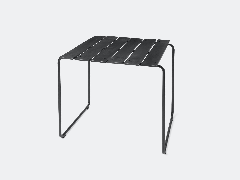 Mater Ocean Table 70X70 Black Nanna Ditzel