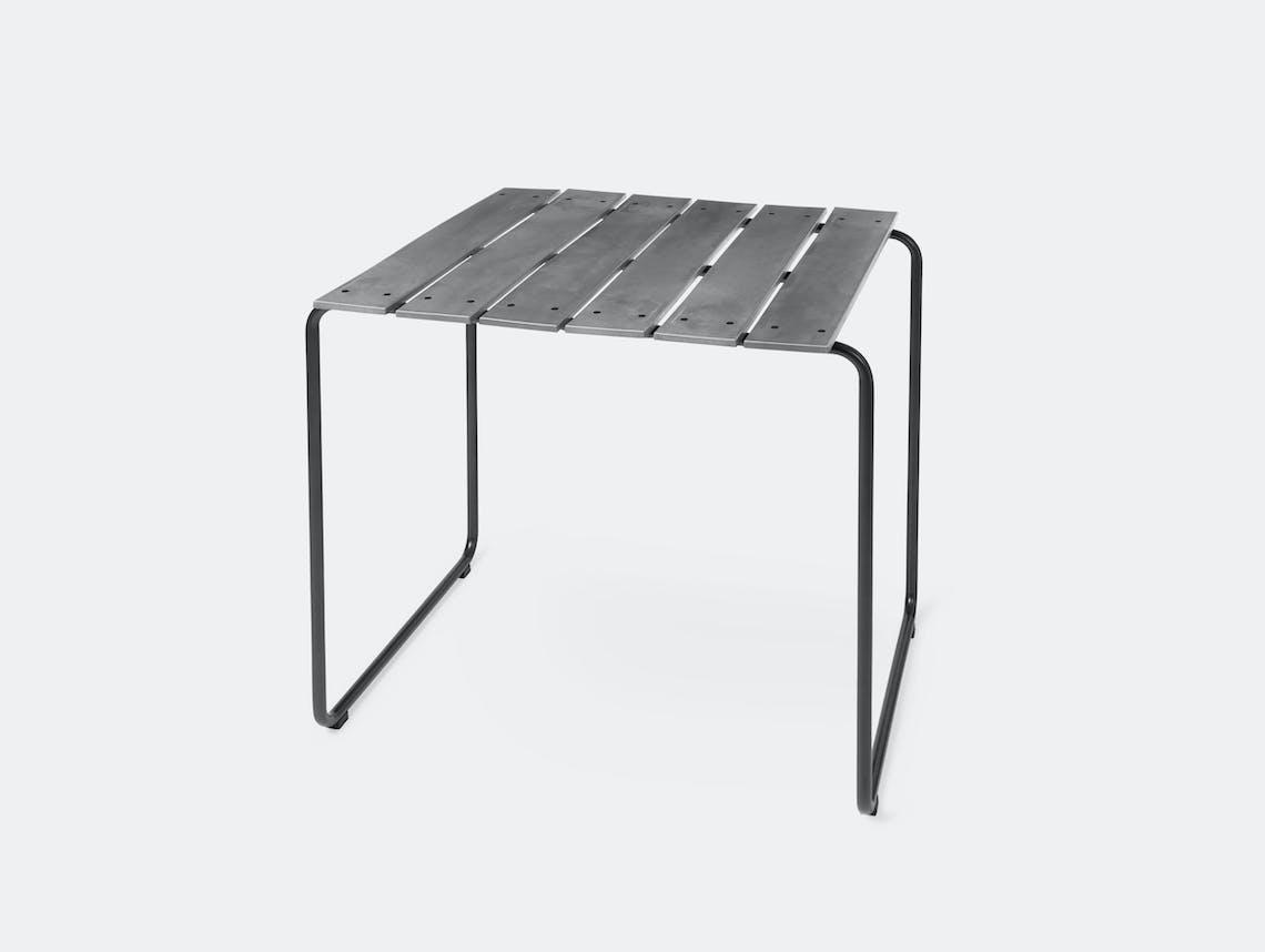 Mater Ocean Table 70X70 Concrete Grey Nanna Ditzel