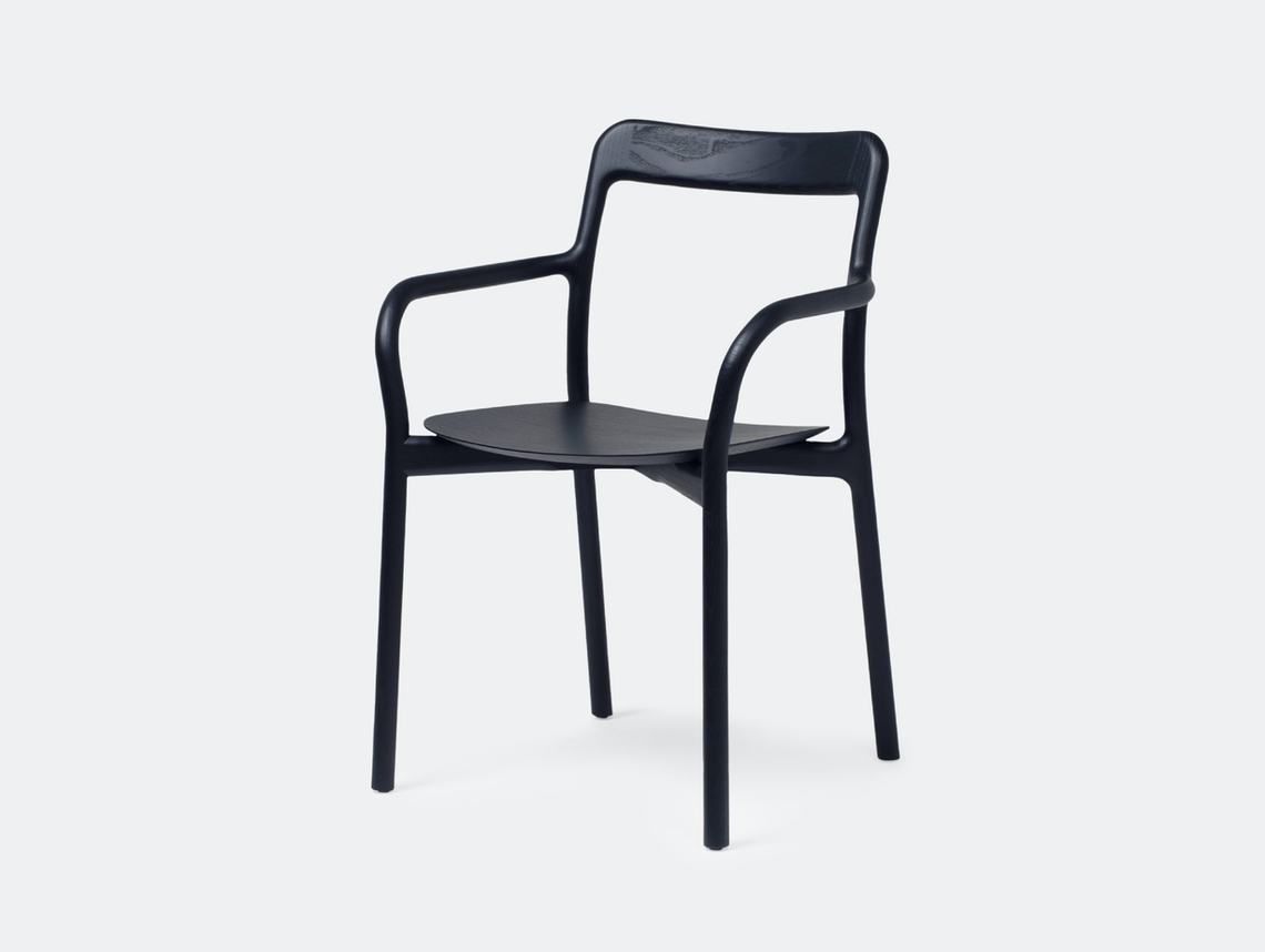 Mattiazzi Branca Chair Black Sam Hecht Kim Colin