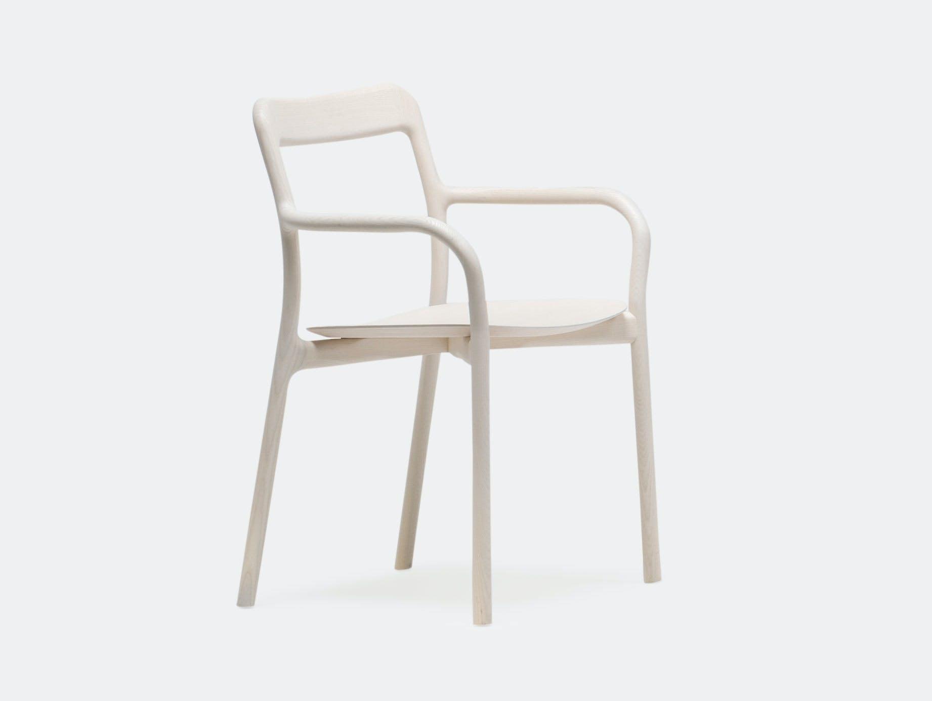 Mattiazzi Branca Chair White Ash Sam Hecht Kim Colin