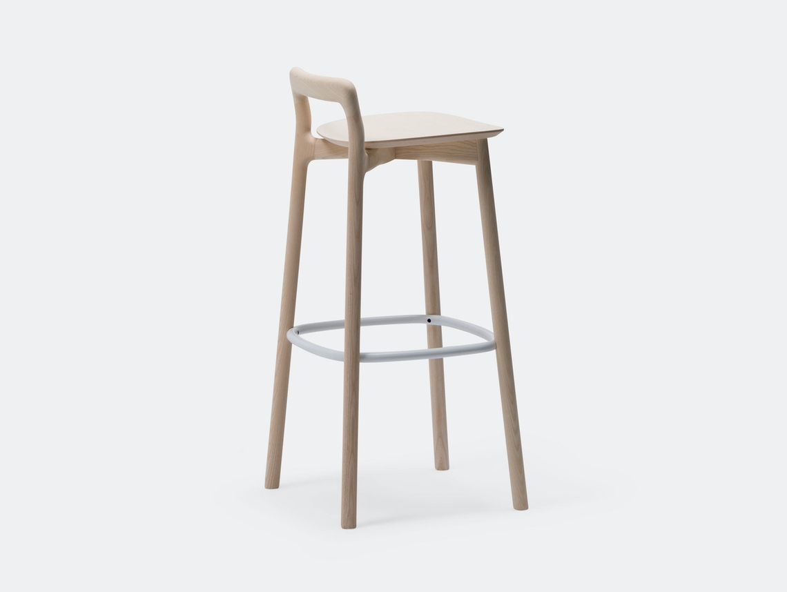 Mattiazzi Branca Stool Natural Ash Industrial Facility
