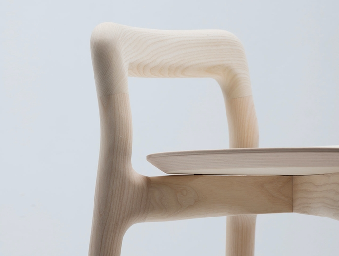 Mattiazzi Branca Stool Natural Ash Detail Industrial Facility