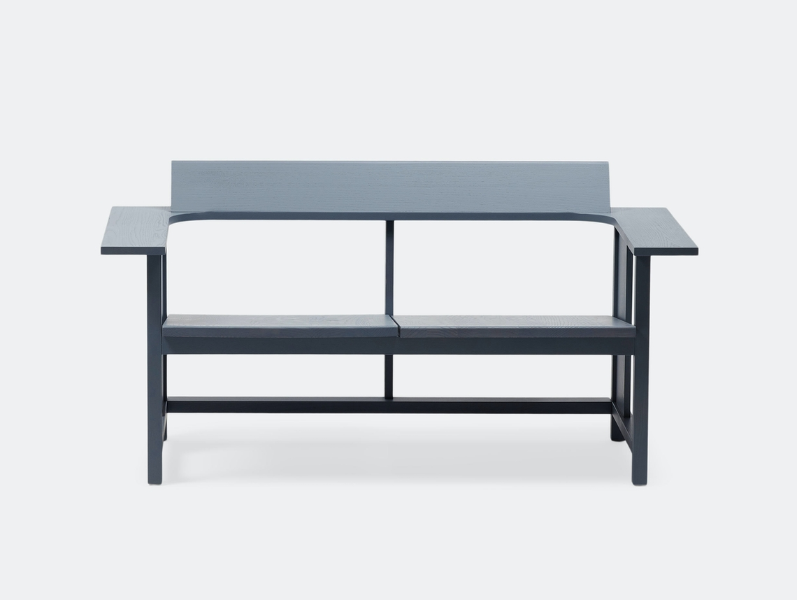 Mattiazzi Clerici 2 Seater Lounge Chair Grey Ash Konstantin Grcic