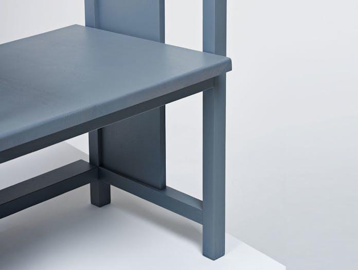 Mattiazzi Clerici 2 Seater Lounge Chair Grey Ash Detail Konstantin Grcic