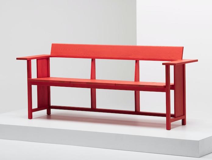 Mattiazzi Clerici Bench Red Ash 2 Konstantin Grcic