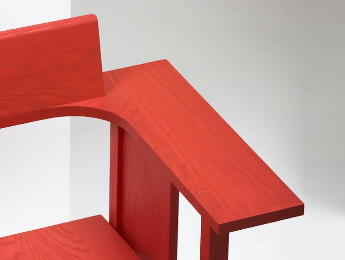 Mattiazzi Clerici Lounge Chair Red Ash Detail Konstantin Grcic