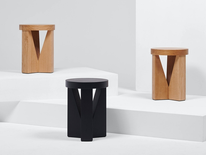 Mattiazzi Cugino Stool Table Group Konstantin Grcic