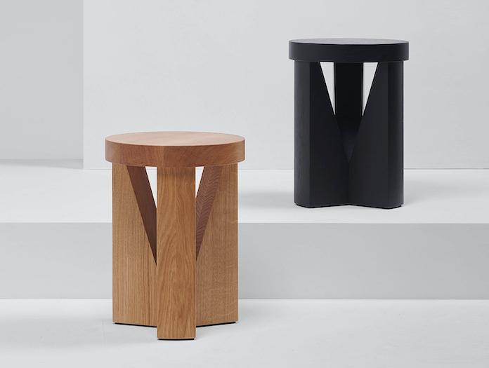 Mattiazzi Cugino Stool Table Pair Konstantin Grcic