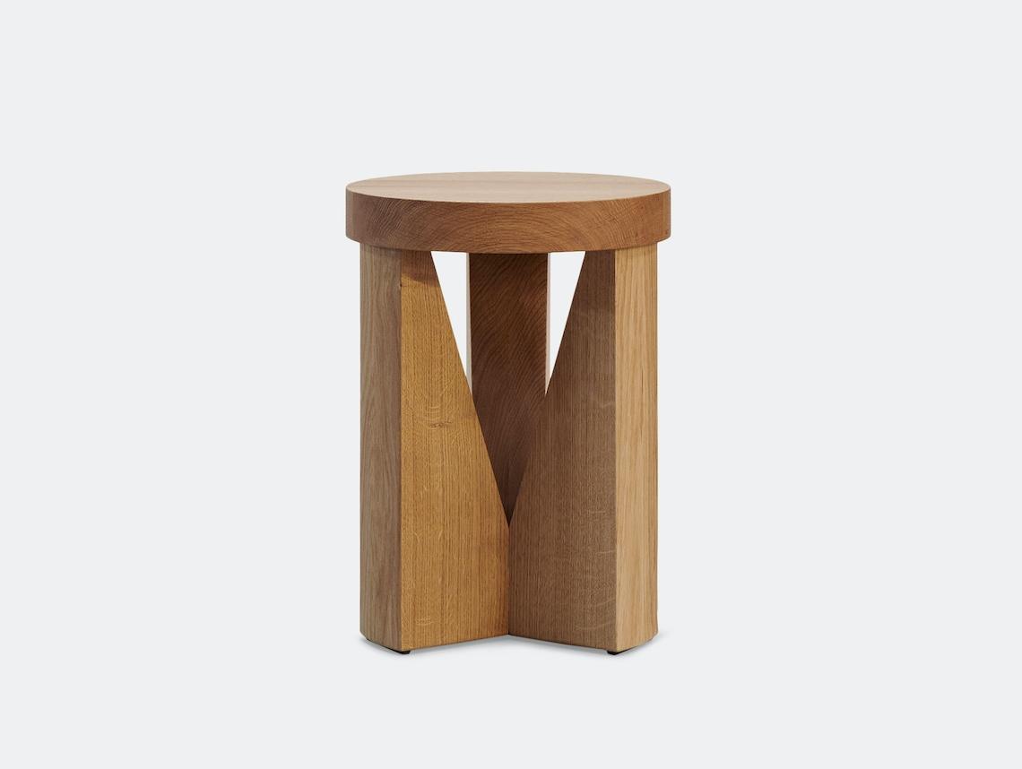 Mattiazzi Cugino Stool Table S Oak Konstantin Grcic