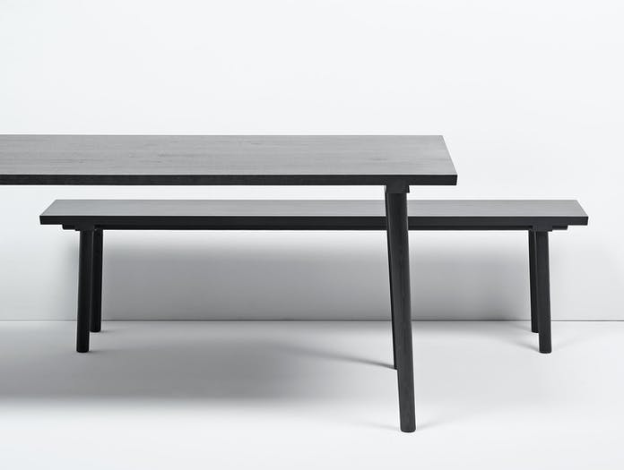 Mattiazzi Facile Bench And Table Lambl Homburger Meyer