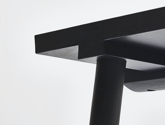Mattiazzi Facile Bench Detail 1 Lambl Homburger Meyer