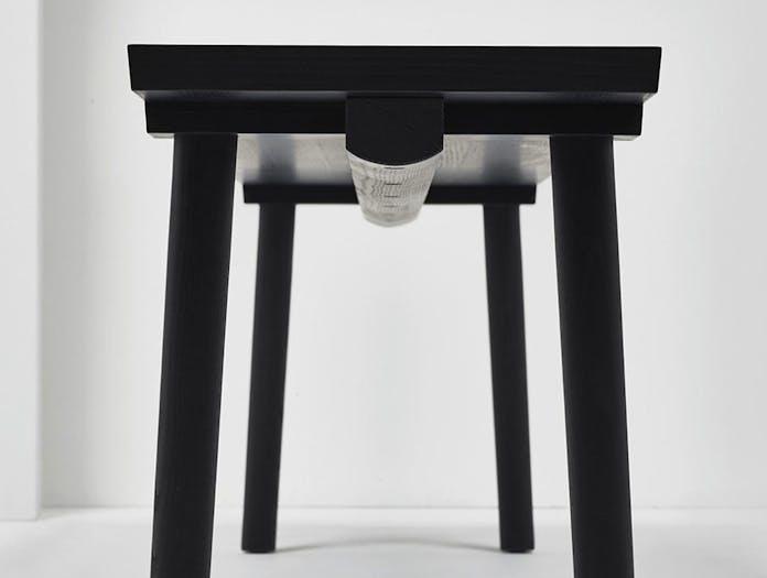 Mattiazzi Facile Bench Detail 2 Lambl Homburger Meyer