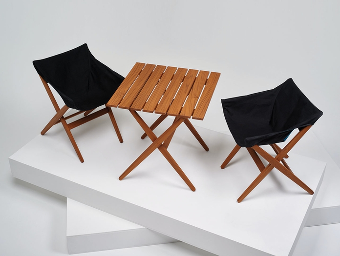 Mattiazzi Fionda Outdoor Table Chairs Jasper Morrison