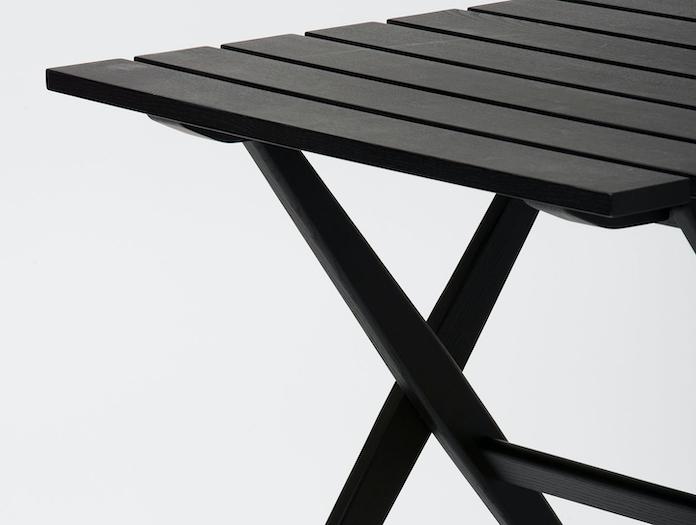 Mattiazzi Fionda Outdoor Table Black Detail Jasper Morrison