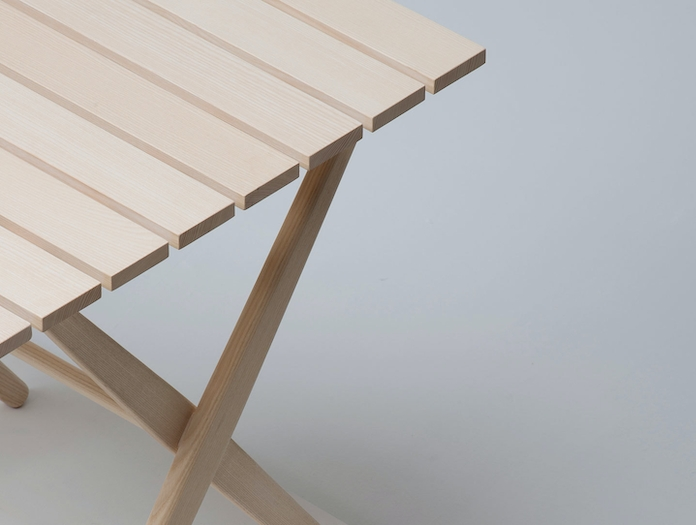Mattiazzi Fionda Outdoor Table Detail Jasper Morrison