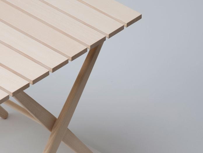 Mattiazzi Fionda Outdoor Table Detail Jasper Morrison