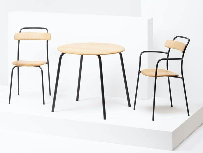 Mattiazzi Forcina Table And Chairs Leon Ransmeier