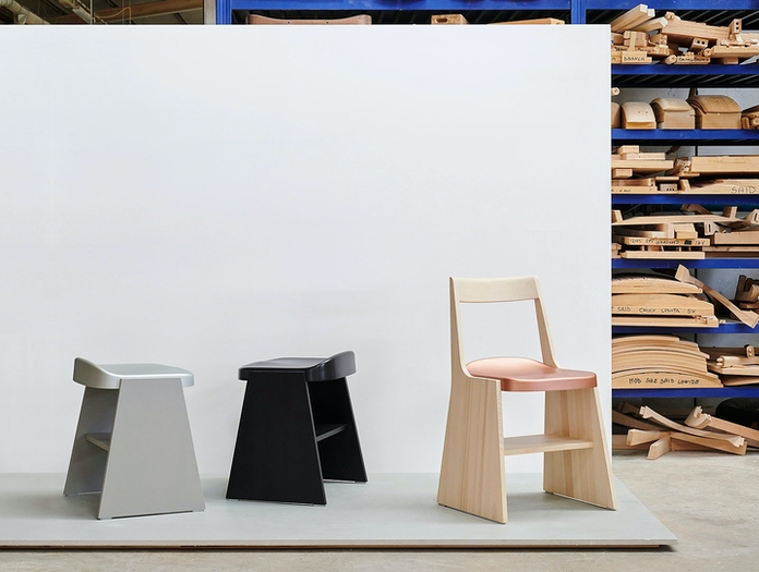 Mattiazzi Fronda Chair And Stools Sam Hecht Kim Colin
