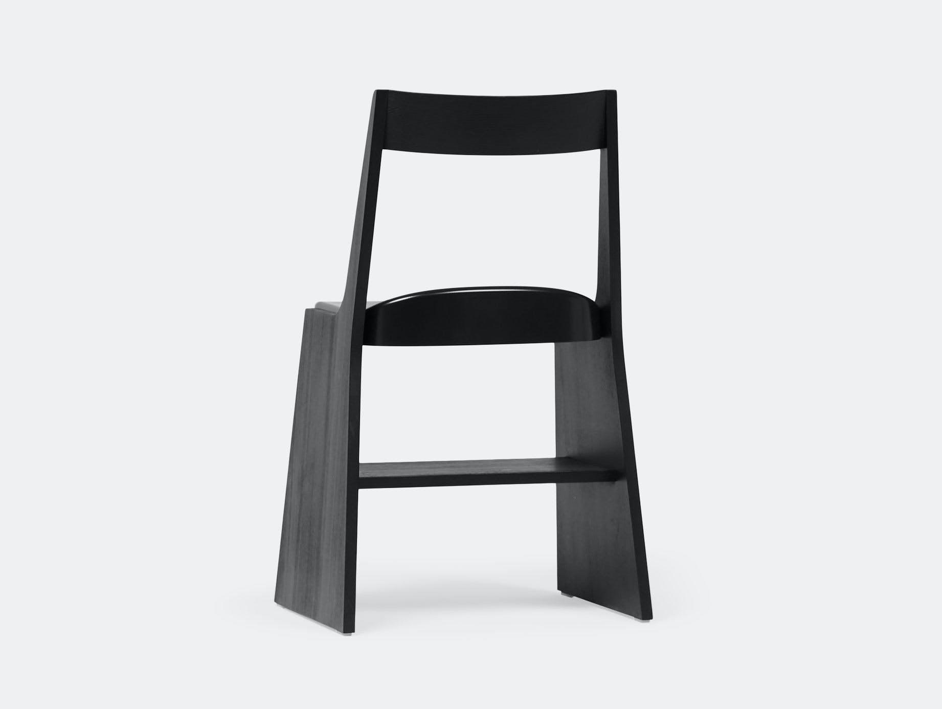 Mattiazzi Fronda Chair Black Sam Hecht Kim Colin