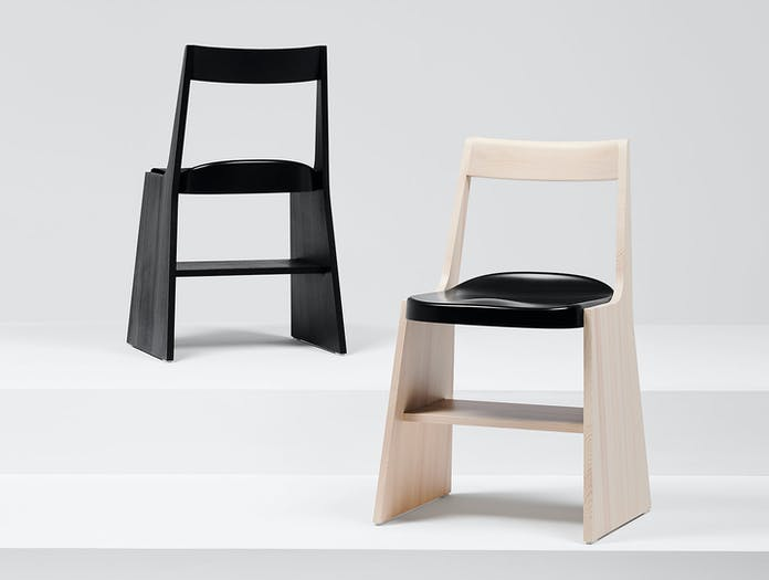 Mattiazzi Fronda Chair Pine Black Sam Hecht Kim Colin