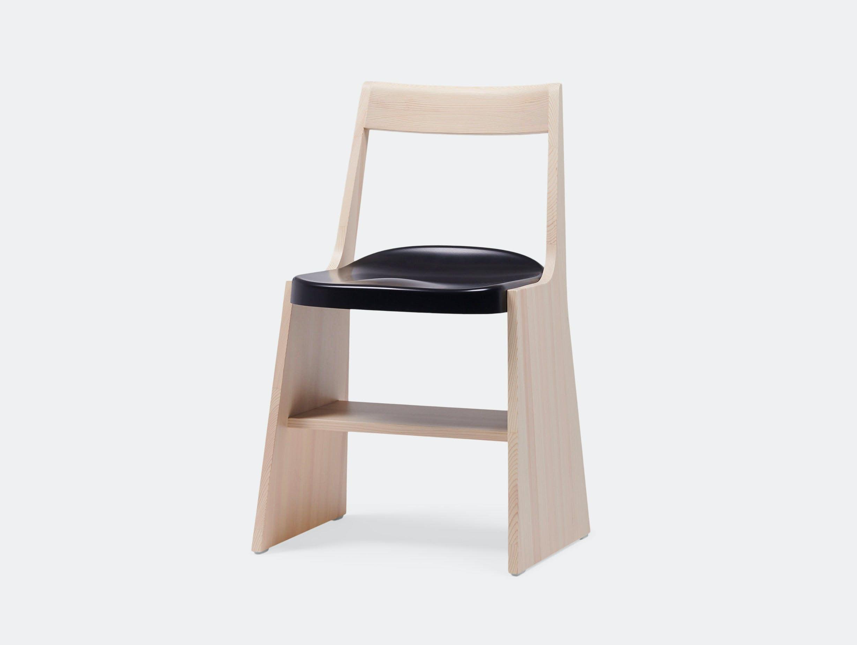 Mattiazzi Fronda Chair Pine Black Seat Sam Hecht Kim Colin