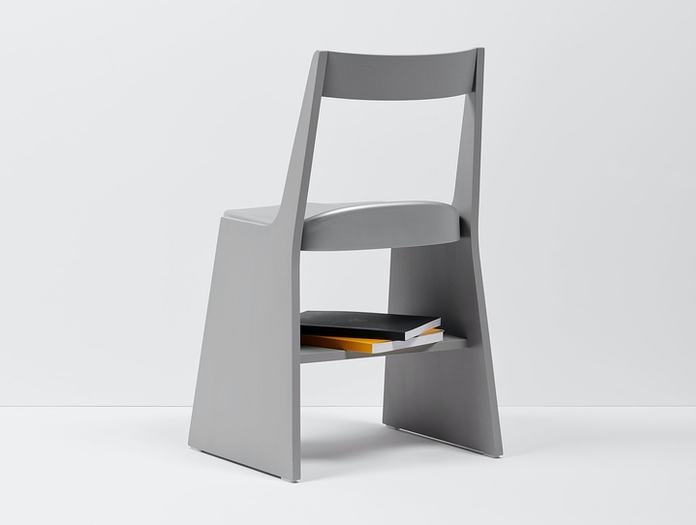 Mattiazzi Fronda Chair Silver Back Sam Hecht Kim Colin