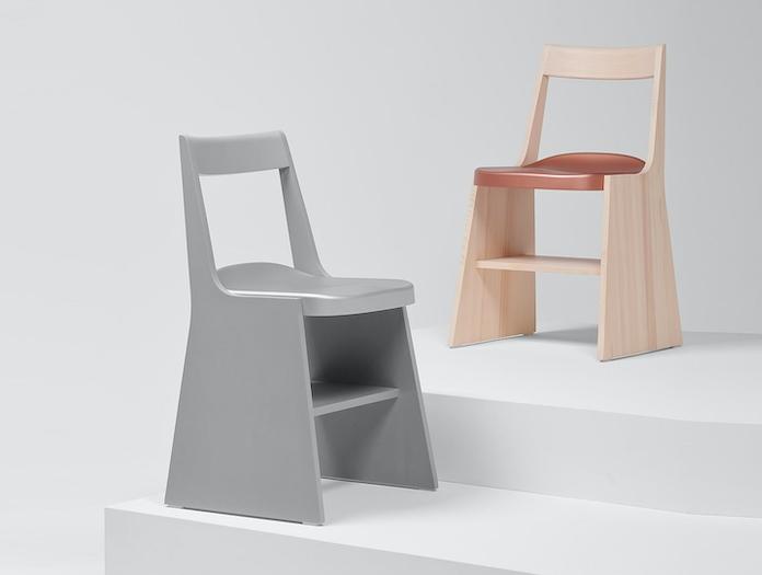 Mattiazzi Fronda Chair Silver Pine Copper Sam Hecht Kim Colin