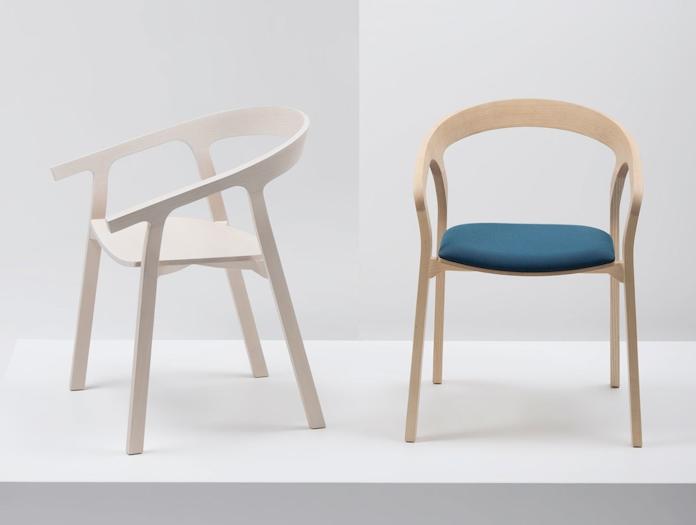 Mattiazzi He Said She Said Upholstered Chair Studio Nitzan Cohen