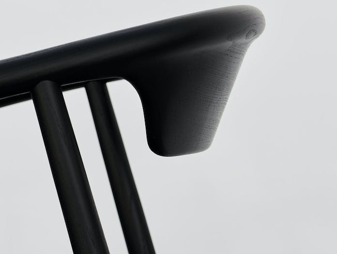 Mattiazzi Leva Chair Ash Black Detail Foster And Partners