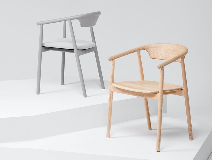 Mattiazzi Leva Chair Ash Grey Foster And Partners