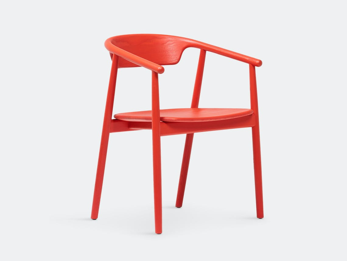 Mattiazzi Leva Chair Red Foster And Partners