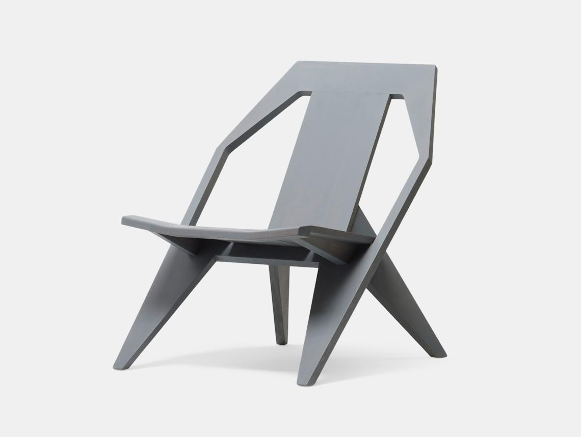 Mattiazzi Medici Lounge Chair Grey Ash Konstantin Grcic