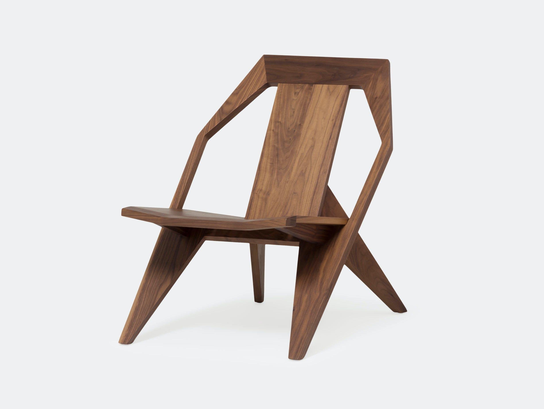 Mattiazzi Medici Lounge Chair Natural Walnut Konstantin Grcic