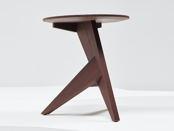 Mattiazzi Medici Side Table Oiled Thermo Ash Konstantin Grcic