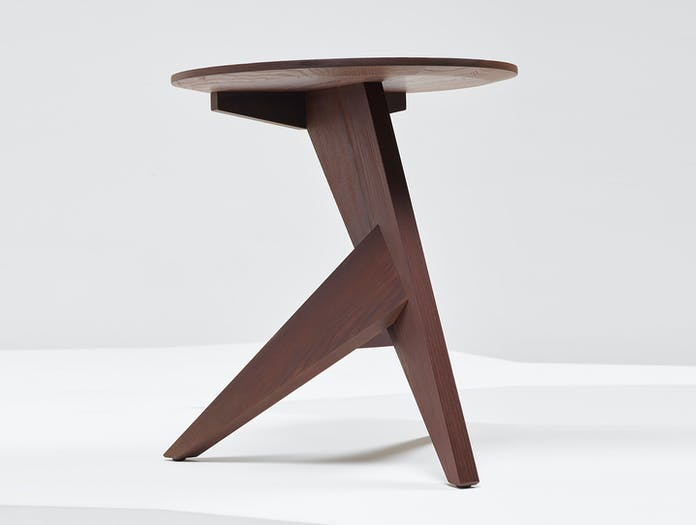 Mattiazzi Medici Side Table Oiled Thermo Ash Konstantin Grcic