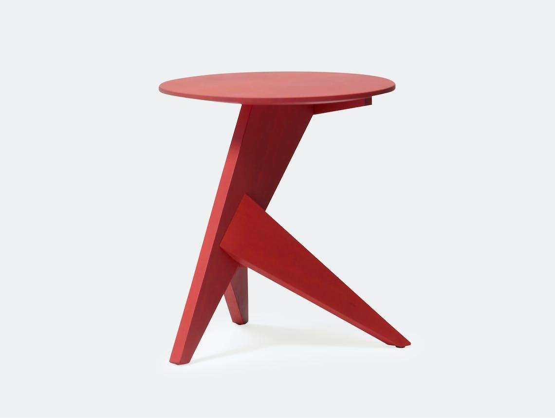 Mattiazzi Medici Side Table Red Ash Konstantin Grcic