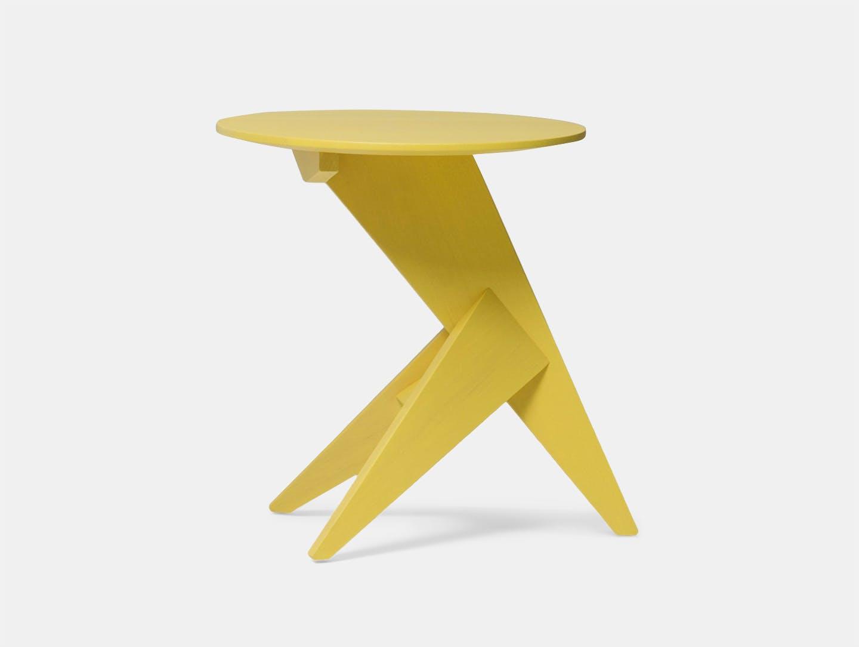 Mattiazzi Medici Side Table Yellow Ash Konstantin Grcic