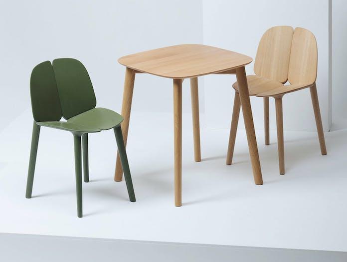 Mattiazzi Osso Chairs Table 2 Ronan Erwan Bouroullec