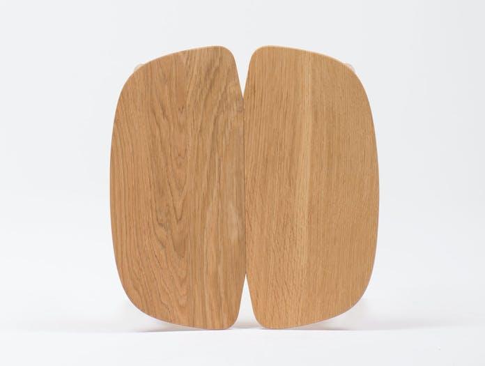 Mattiazzi Osso Counter Stool Oak Top Detail Ronan Erwan Bouroullec