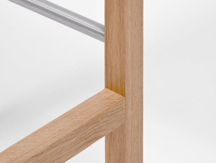 Mattiazzi Primo Stool Oak Detail Konstantin Grcic