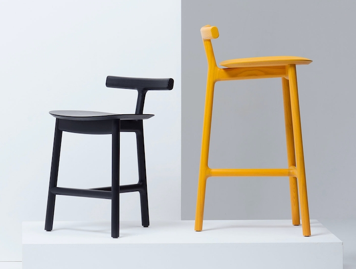 Mattiazzi Radice Chair And Stool Ash Sam Hecht Kim Colin