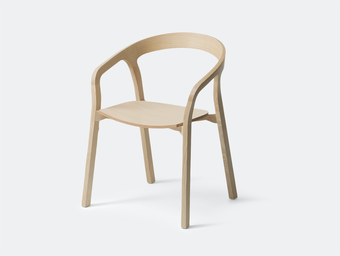 Mattiazzi She Said Chair Ash Studio Nitzan Cohen