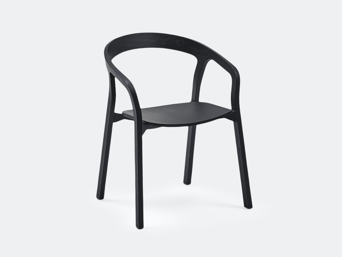 Mattiazzi She Said Chair Black Ash Studio Nitzan Cohen