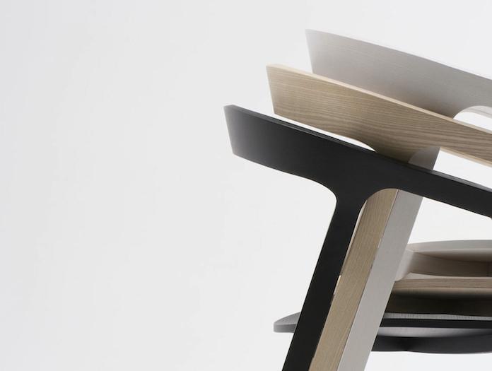 Mattiazzi She Said Chair Stack Detail Studio Nitzan Cohen