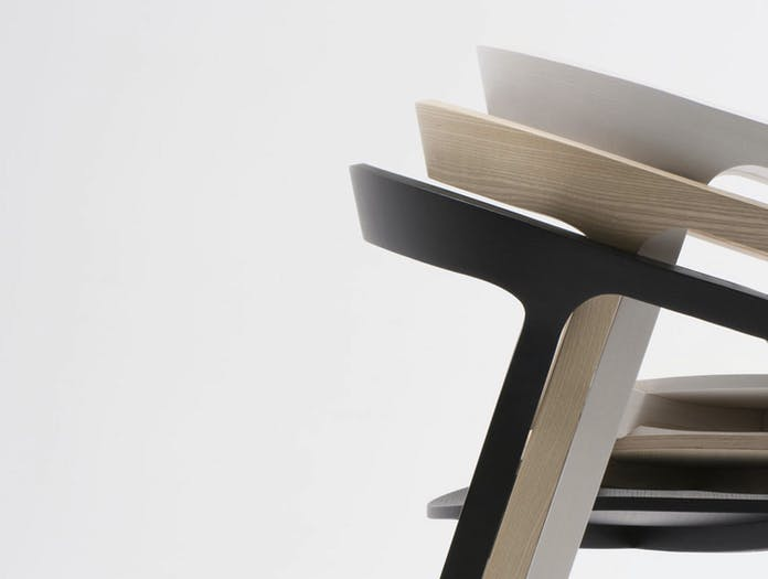 Mattiazzi She Said Chair Stack Detail Studio Nitzan Cohen