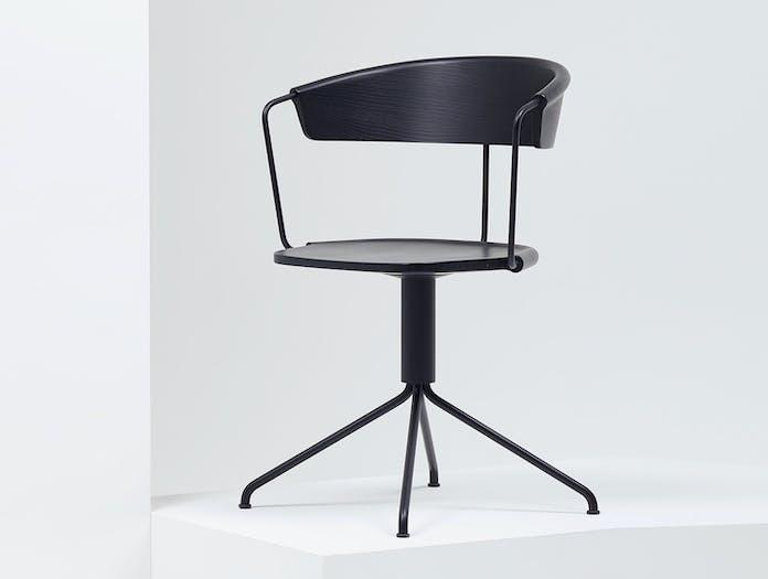Mattiazzi Uncino A Chair Ash Black 2 Ronan Erwan Bouroullec