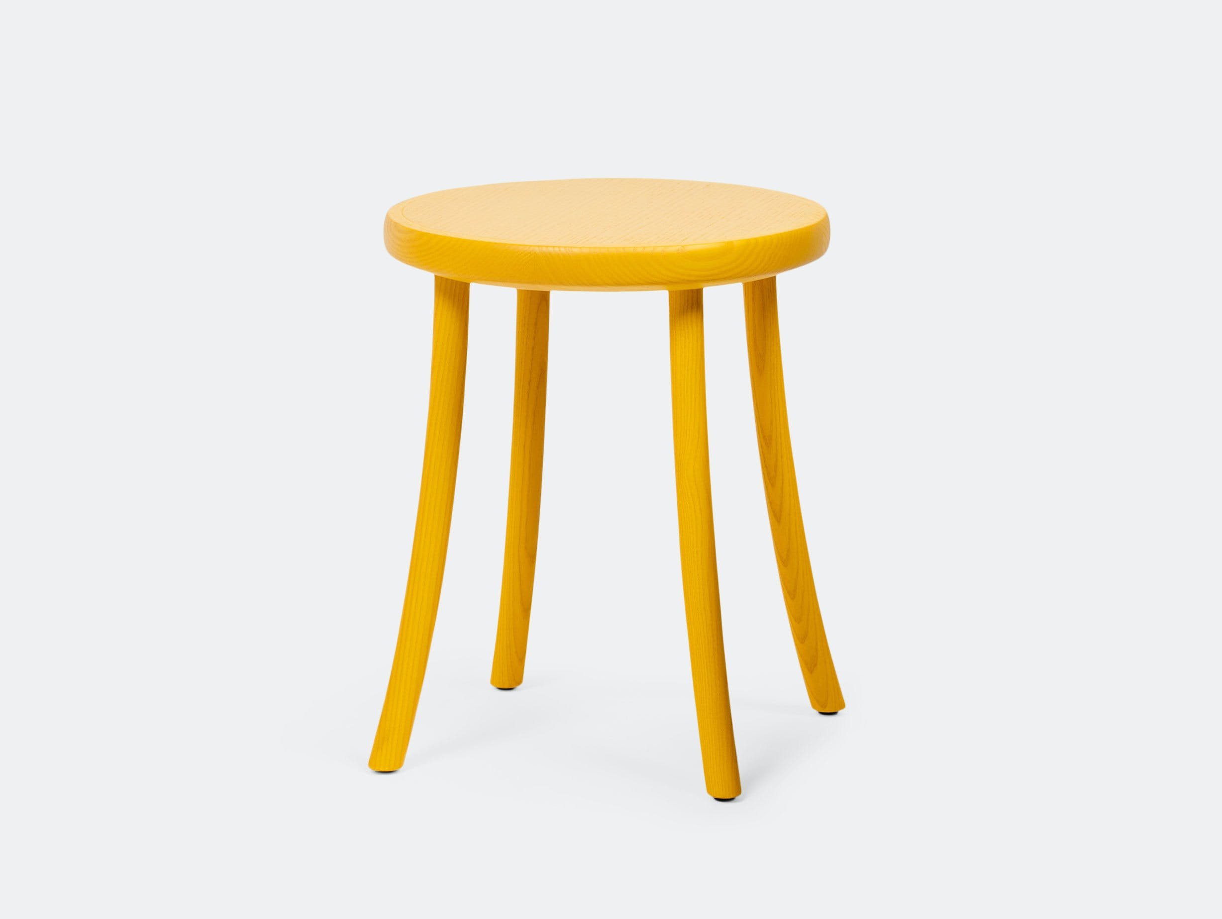 Mattiazzi Zampa Low Stool Yellow 2 Jasper Morrison