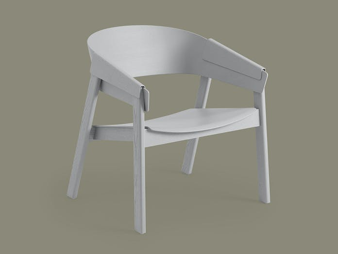 Muuto Cover Lounge Chair Grey